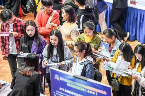 Sinh viên Hồng Công ra trường khó tìm việc