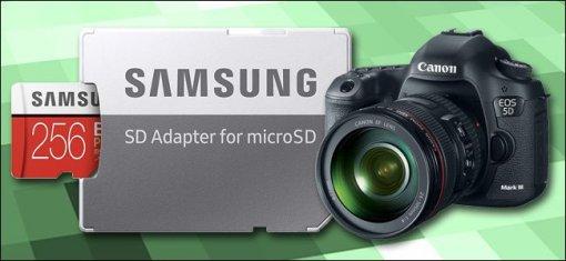 Vì sao không nên sử dụng thẻ MicroSD cho máy ảnh DSLR hoặc máy ảnh không gương lật?
