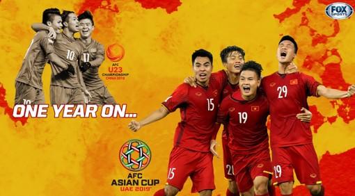 Bóng đá Việt Nam đã có một năm huy hoàng