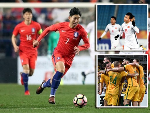 5 trận cầu được chờ đợi  ở vòng bảng Asian Cup 2019