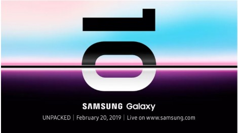 Samsung Galaxy S10 sẽ ra mắt vào ngày 20-2