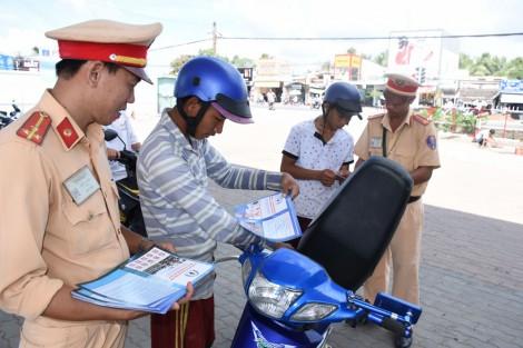 Quyết tâm kéo giảm tai nạn giao thôngtừ 5% - 10% vềsố vụ, số người chết và người bị thương