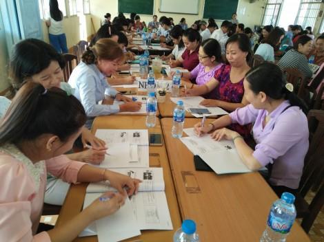 Tập huấn về đổi mới phương pháp dạy học cho 120 cán bộ, giáo viên