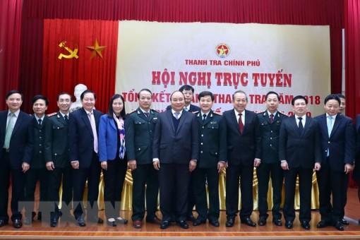 Thủ tướng Chính phủ Nguyễn Xuân Phúc: Xây dựng đội ngũ thanh tra gương mẫu, đạo đức, chính trực trung thành