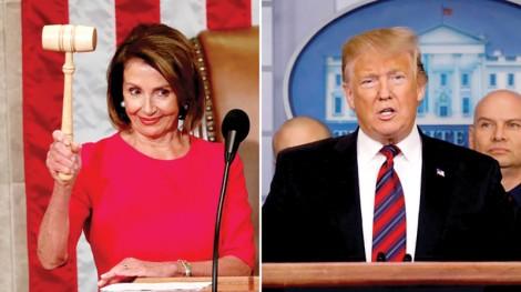 """Ông Trump """"đấu"""" bà Pelosi"""