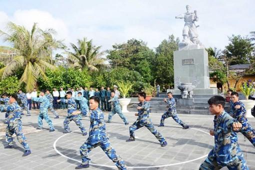 Chiến sĩ Trường Sa luyện rèn thể lực