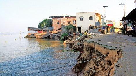 Giữ nước ngọt cho vùng Đồng bằng sông Cửu Long <br>  Bài 1: Nguồn nước đang suy kiệt