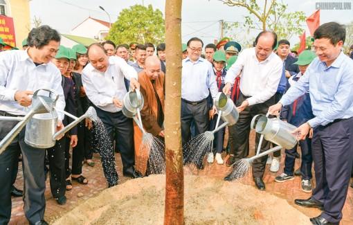 Phát động trồng cây ở mọi vùng miền cả nước cần trở thành phong trào của tất cả địa phương