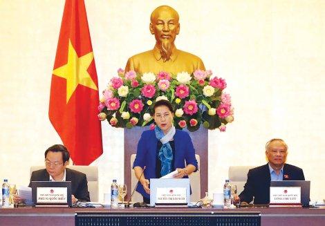 Phiên họp thứ 31 của Ủy ban Thường vụ Quốc hội