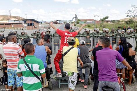 Biên giới Venezuela căng thẳng