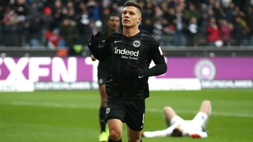 """Luka Jovic - """"Chân"""" ghi bàn mới ở Bundesliga"""