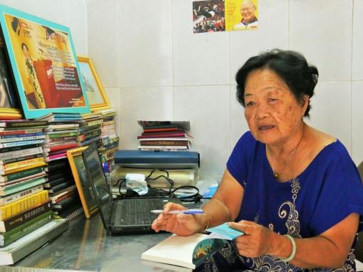 Nhà văn 82 tuổi  viết truyện thiếu nhi