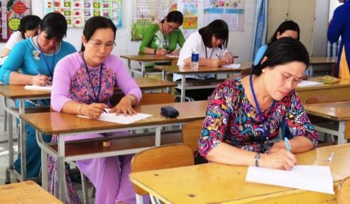 561 giáo viên tham gia Hội thi Giáo viên dạy giỏi cấp tiểu học thành phố