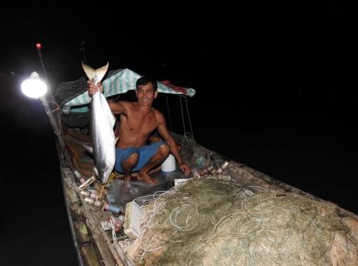 Mùa săn cá bông lau