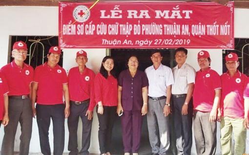 Thốt Nốt ra mắt thêm điểm sơ cấp cứu Chữ thập đỏ