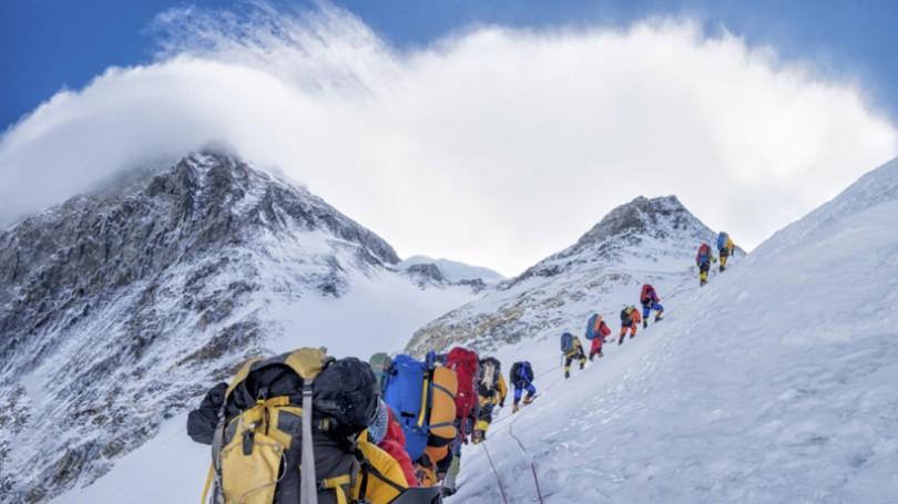 Hiểm nguy trên đỉnh Everest