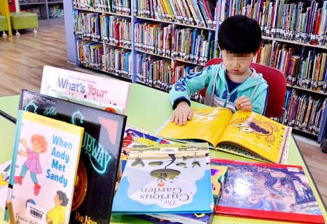 Bùng nổ sách tiếng Anh trẻ em tại Hàn Quốc