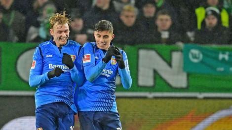 Julian Brandt và Kai Havertz -  Bộ đôi tấn công mới của tuyển Đức