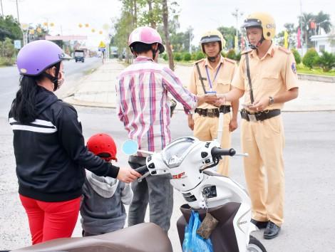 Bảo đảm trật tự an toàn giao thông và trật tự xã hội