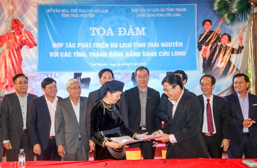 ĐBSCL và tỉnh Thái Nguyên có nhiều tiềm năng liên kết phát triển du lịch