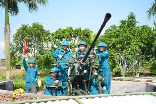 Phát huy vai trò xung kích của lực lượng dân quân tự vệ trong tình hình mới