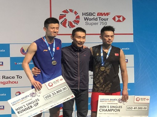 Sự trở lại của các tay vợt Trung Quốc