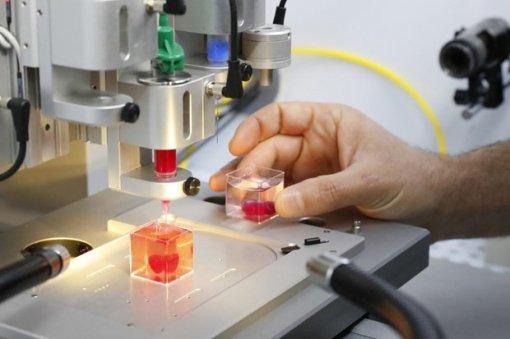 Ứng dụng công nghệ in 3D tạo ra tim cấy ghép trên người