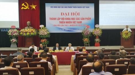 Thành lập Hội Khoa học các sản phẩm thiên nhiên Việt Nam