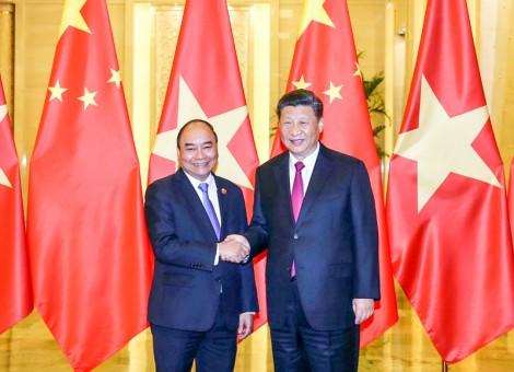 Thủ tướng Nguyễn Xuân Phúc hội kiến Tổng Bí thư, Chủ tịch Trung Quốc