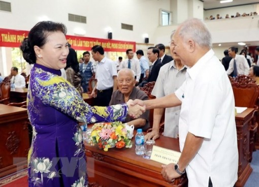 NA Chairwoman joins Can Tho's liberation celebration