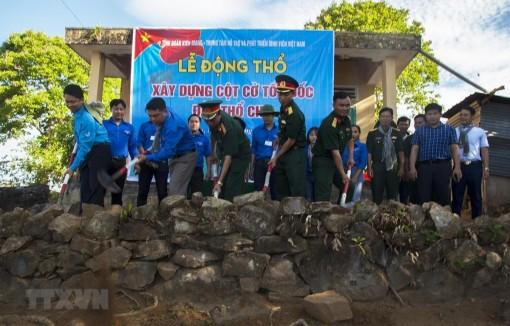 Kiên Giang: Xây dựng Cột cờ Tổ quốc trên đảo Thổ Chu