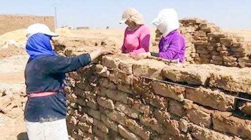 Ngôi làng chỉ có phụ nữ và trẻ em