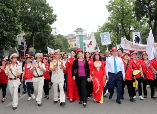 """Chủ tịch Quốc hội Nguyễn Thị Kim Ngân dự Lễ phát động """"Tháng Nhân đạo"""" 2019"""