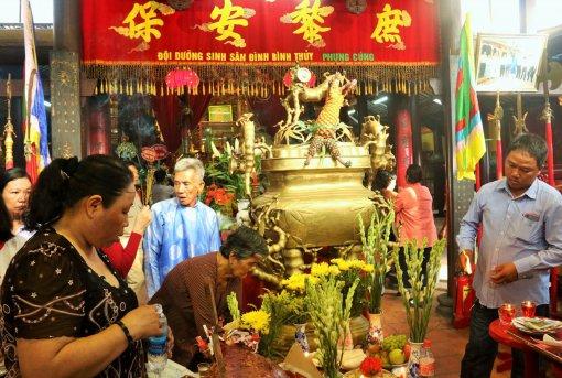 Khai mạc Lễ hội Kỳ yên Thượng điền  Đình Bình Thủy