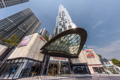 Vincom Center Landmark 81 được vinh danh trung tâm thương mại tốt nhất Việt Nam