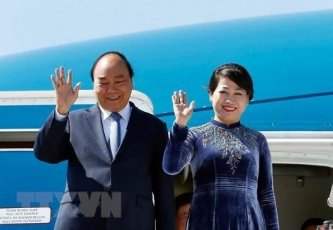 PM Nguyen Xuan Phuc sets off for official visits to Russia, Norway, Sweden