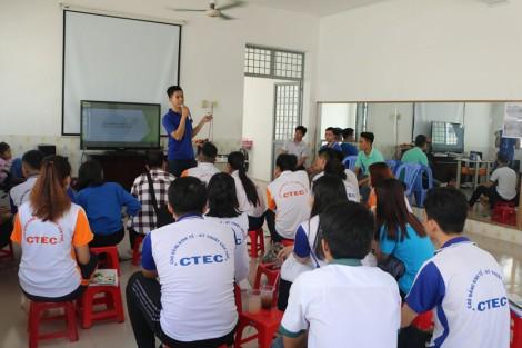 Trang bị kiến thức phòng, chống HIV/AIDS cho sinh viên nòng cốt