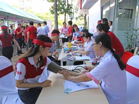 """Công ty BHNT Dai-ichi Việt Nam triển khai chương trình """"Kết nối yêu thương - hiến máu nhân đạo 2019"""" tại TP. Cần Thơ"""