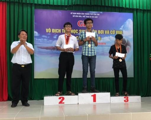 Bế mạc Giải vô địch trẻ, học sinh môn Bơi và Cờ vua TP Cần Thơ năm 2019