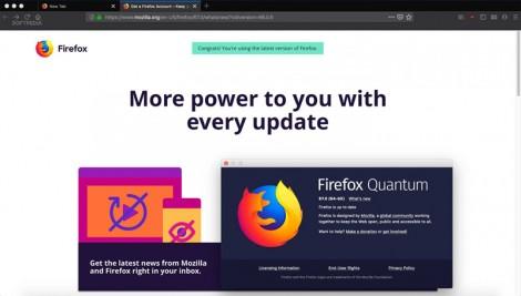 Những tính năng mới trên trình duyệt web Firefox 67