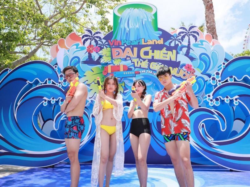 """""""Đại chiến thế giới nước"""" tại Vinpearl Land khuấy đảo mùa du lịch hè"""