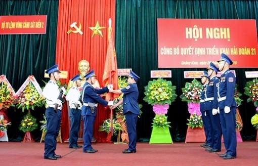 Bộ trưởng Quốc phòng quyết định triển khai Hải đoàn 21