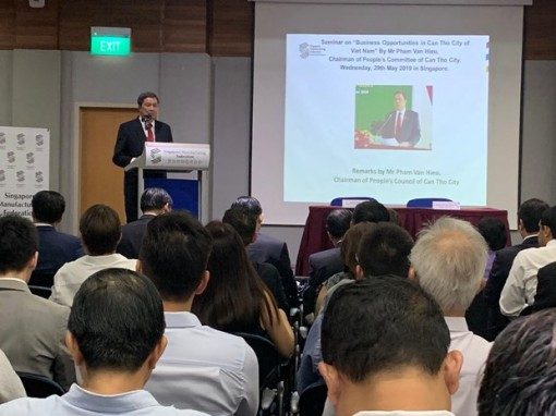 Can Tho calls for Singaporean investment into priority fields