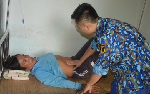 Bệnh xá đảo Sinh Tồn, Nam Yết phối hợp cấp cứu ngư dân