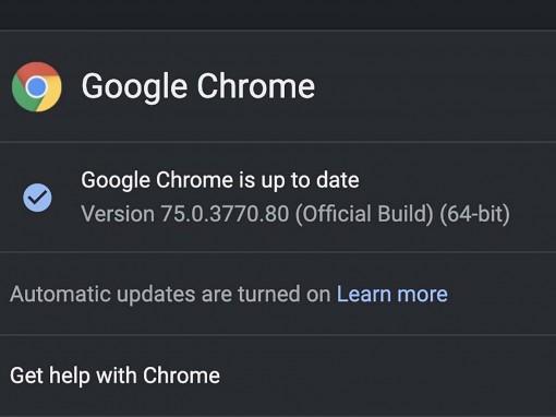 Google Chrome 75 được tung ra với chế độ đọc bí mật