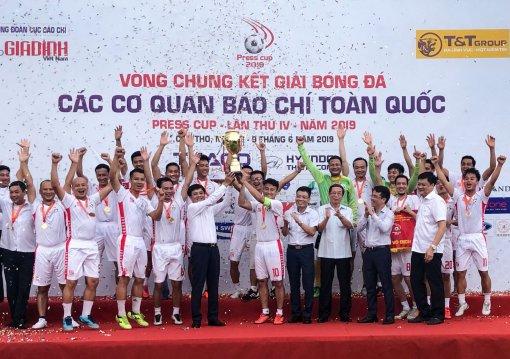 VTV vô địch Press Cup 2019