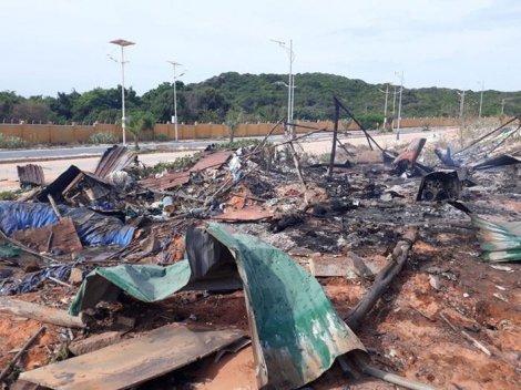Khánh Hòa: Vụ cháy nổ ở sân golf làm 2 người chết, 8 người bị thương