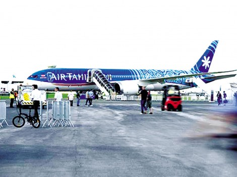 Boeing thất thế tại Triển lãm hàng không Paris