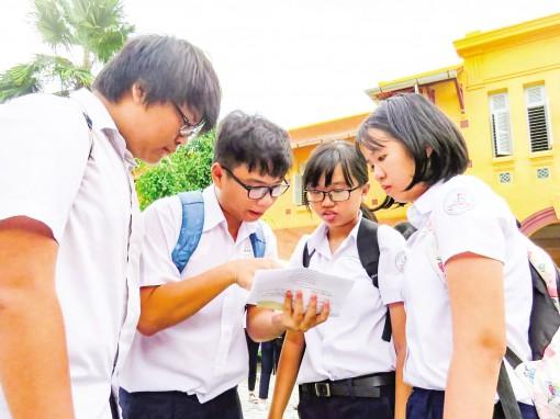 Trường THPT Châu Văn Liêm có điểm chuẩn trúng tuyển cao nhất 25,25 điểm