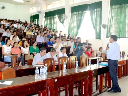 Hỗ trợ hiệu quả Kỳ thi  THPT Quốc gia cụm địa phương
